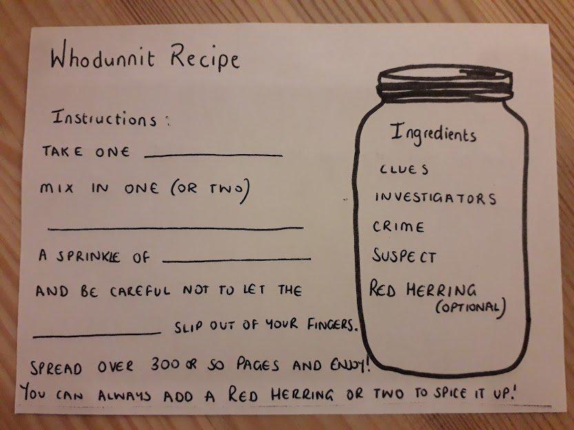 Whodunit Recipe